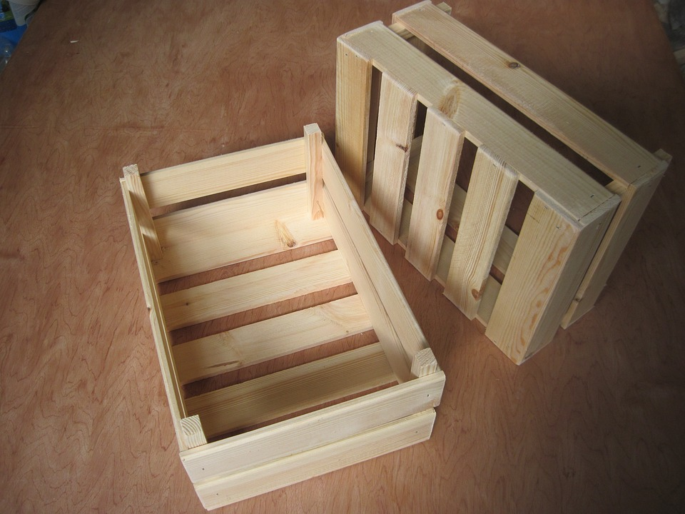 dřevěné přepravky