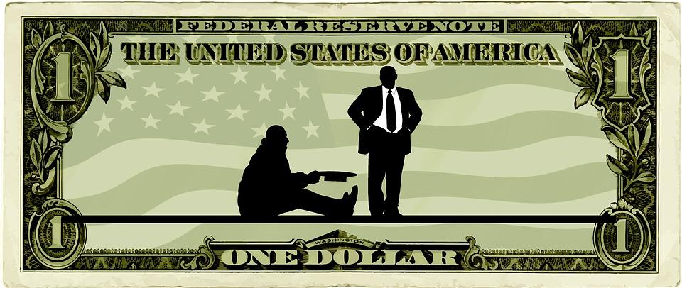 dolar se žebrákem