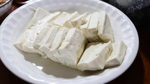 talíř tofu